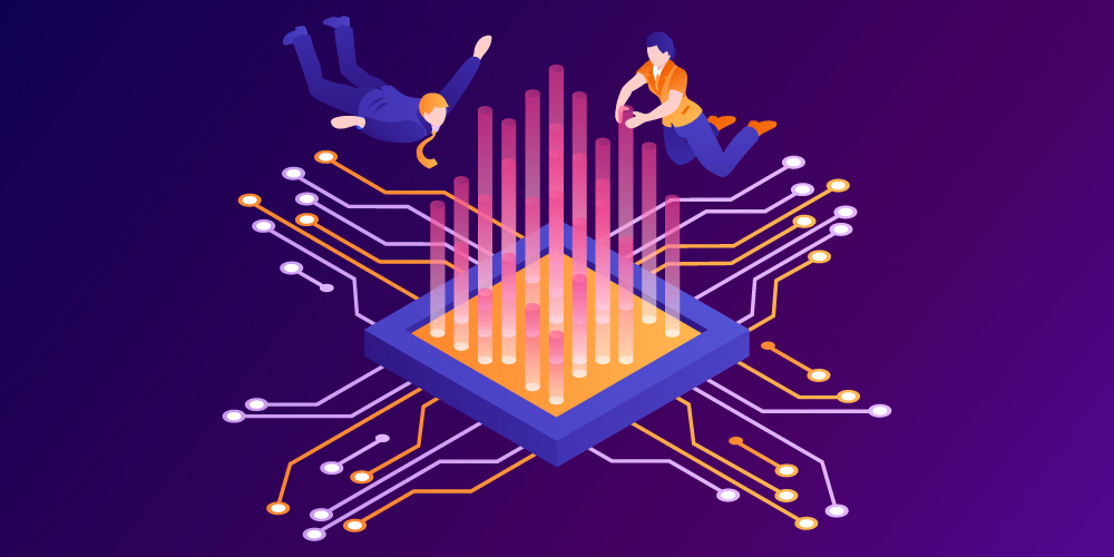 Quantum computing and neural networks at the speed of light